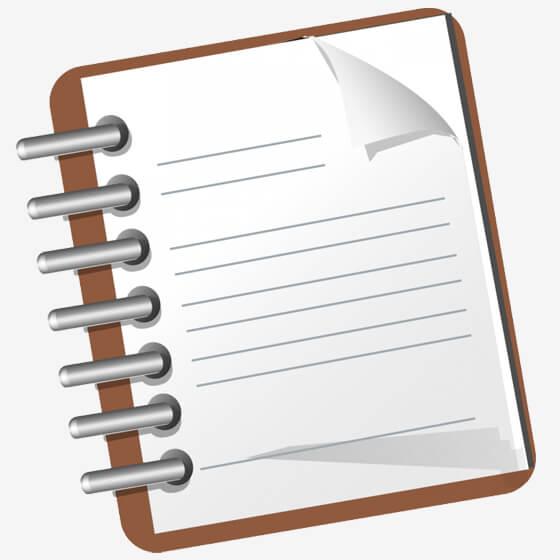 دفترچه ارتباط با مشتری