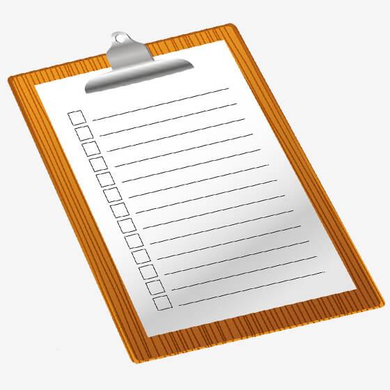 چک لیست فروش تلفنی